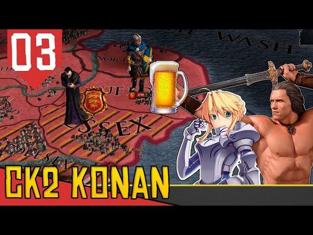 Estratégia do Carregadinho - CK2 Monarch's Journey Konan #03 [Série Gameplay Português PT-BR]