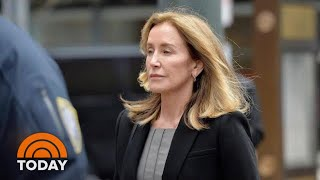 Felicity Huffman Set To Be Released From Prison This Weekend | TODAY