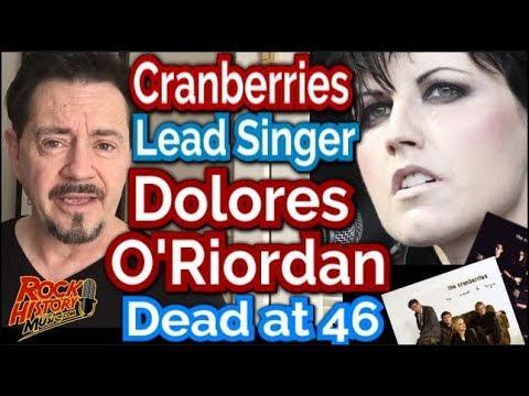 Cranberries Singer Dolores O'R dolores o riordan