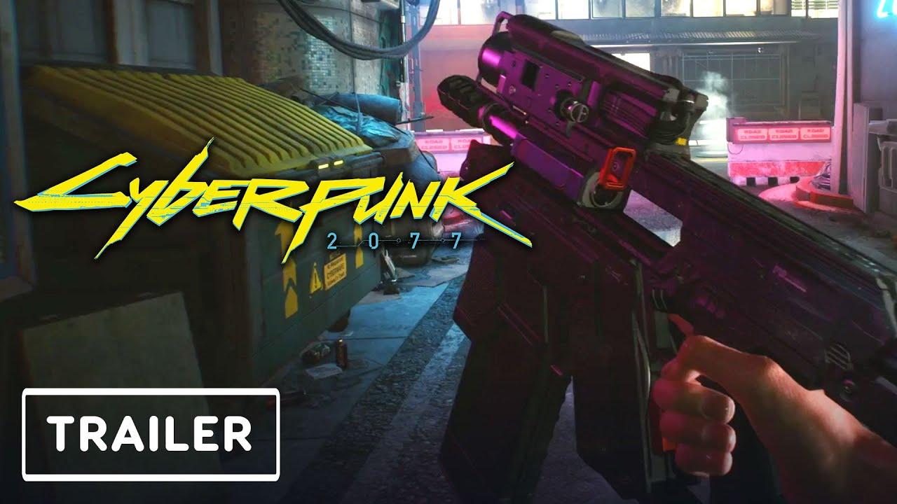 Пушки и катаны: свежий трейлер Cyberpunk 2077 рассказывает об оружии
