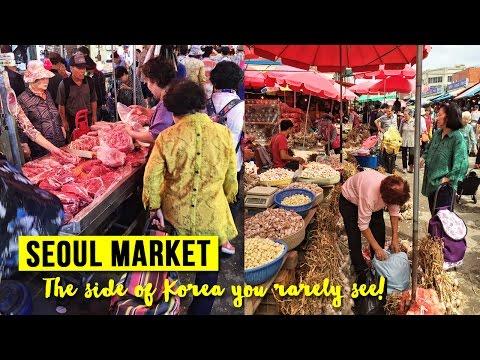 Gyeongdong Market in Seoul, South Korea
