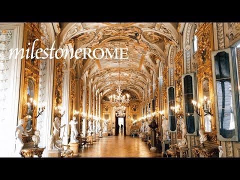 Gallery of Mirrors at Palazzo Doria Pamphilj in Rome