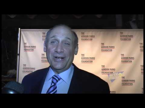 Dan Tishman at Gordon Parks Foundation Event