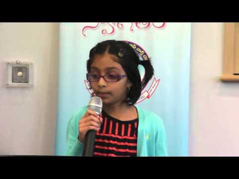 Soumya Bendapudi sings 'Pedave Palikina..' from Nani at TANTEX Vasantha Gana Sourabham