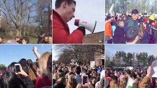 Students Walked Out. Here Are Their Videos. | NYT