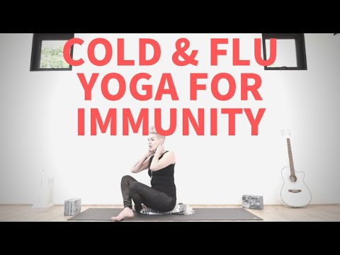 Yoga for cold and flu season! Boost your immunity.