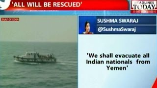 2300 Indians Rescued From Yemen, Pakistani Vessels Aided In Rescue Efforts