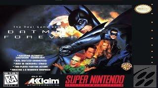 Game | Batman Forever SNES Longplay 207 | Batman Forever SNES Longplay 207