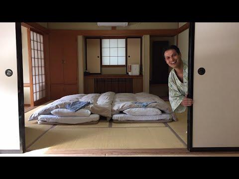 Japanese Ryokan & Onsen Bath Experience