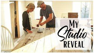 Shop Makeover ~ Studio Space ~ Studio Reveal ~ Shop Remodel