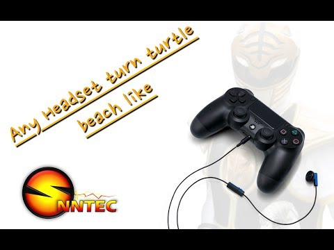 How To Make Game Audio Come Through Any Headset For The PS4 - Turtle Beach Like Functionality