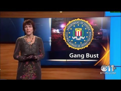 KTVA Channel 11 Anchorage Gang Bust