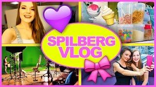 Spilberg VLOG // Миранда Керр, Съемки RU TV и Я продавщица мороженого :D