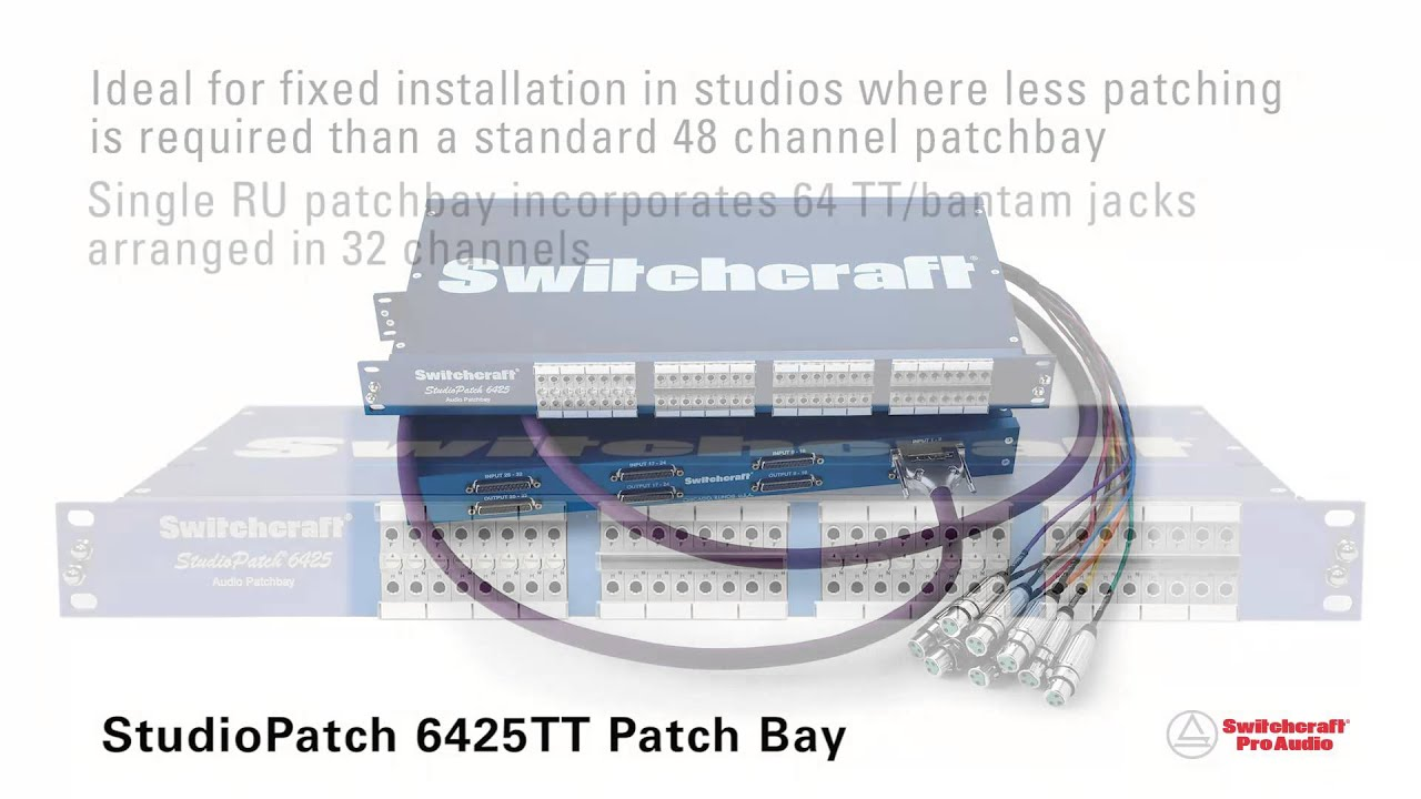 Tt Patchbay Wiring Diagram Solutions Switchcraft Diagrams Residential Electrical Symbols