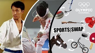 Karate Vs Fencing - Can They Switch Sports? | Sports Swap Challenge