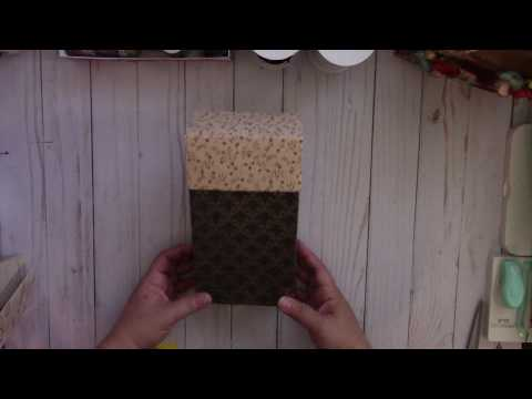 Gift Box Tutorial for your Journal/TN