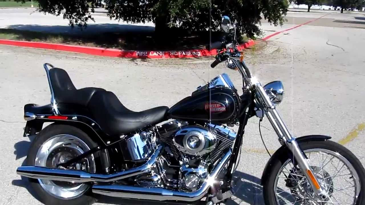 2009 Harley-Davidson Softail Custom FXSTC For Sale - YouTube
