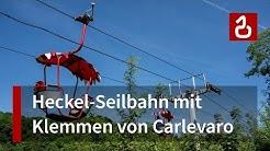 Die Seilbahn im Deutsch-Französischen Garten in Saarbrücken (Heckel / Carlevaro)