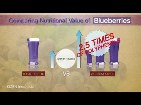 #4 OZEN Vacuum Blender Nutritional Test