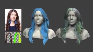 AutoHair: Fully Automatic Hair Modeling from A Single Image