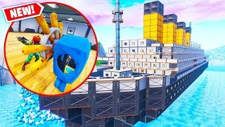 TITANIC HIDE AND SEEK *NEW* Custom Gamemode In Fortnite Battle Royale