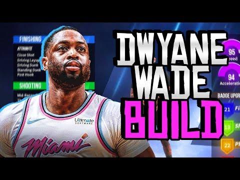 HOW TO MAKE A DWYANE WADE BUILD ON NBA 2K20 - OP DEMI-GOD BUILD!!