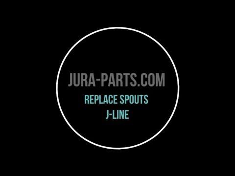 How to Remove Jura Coffee Spouts | J5-J6-J7-J9-J9.2-J9.3-XJ9
