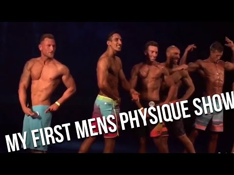 My First Mens Physique Show UKUP | Milton Keynes 2016