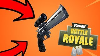 Fortnite Is Adding a New Weapon Called The Scoped Revolver... Deagle Getting Vaulted?