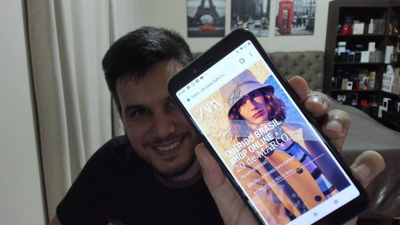 7c69251c ZARA vai vender ONLINE no Brasil? - YouTube