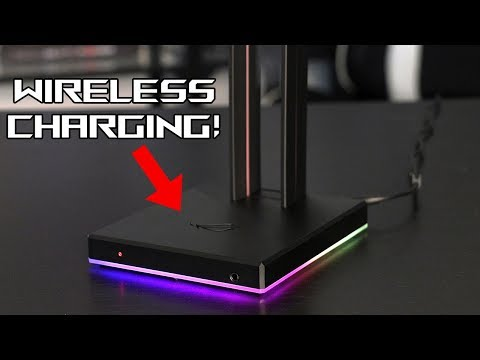 ROG Throne Qi Headset Stand Introduction & Features