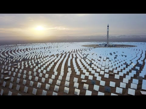 China's first 100MW solar power plant goes into operation