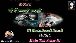 Kamli - Karaoke With Scrolling Lyrics (Hindi & English)