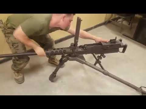 طريقك فك وتركيب السلاح M2 Brawning المعروف بعيار ٥٠ Youtube