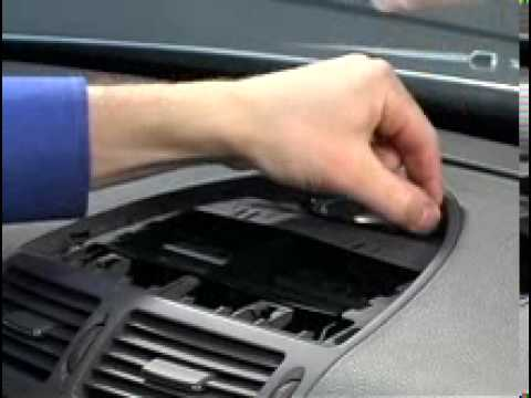 Mercedes W211 How to use hidden air condition (AC) menu | FunnyCat TV
