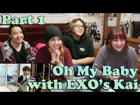 Oh! My Baby EXO's Kai CUT Reaction (Part 1)