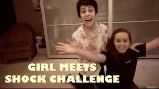 Girl Meets Electric Shock Challenge!