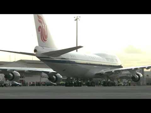 Departure of President Xi Jinping, People