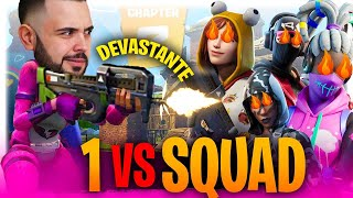 Fortnite: SOLO vs Squad in un End Game PAZZESCO - il King!