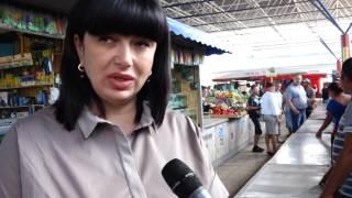 Стихийным торговцам в Симферополе выделили рабочие места