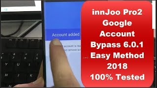 innjoo Pro 2 Google Account Bypass FRP Reset Done 100% Tested (Without PC)