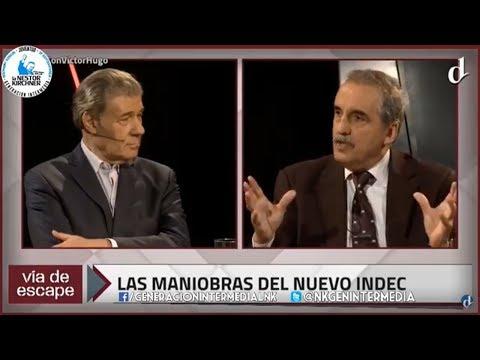 Guillermo Moreno con Victor Hugo en Via de Escape 18/03/18