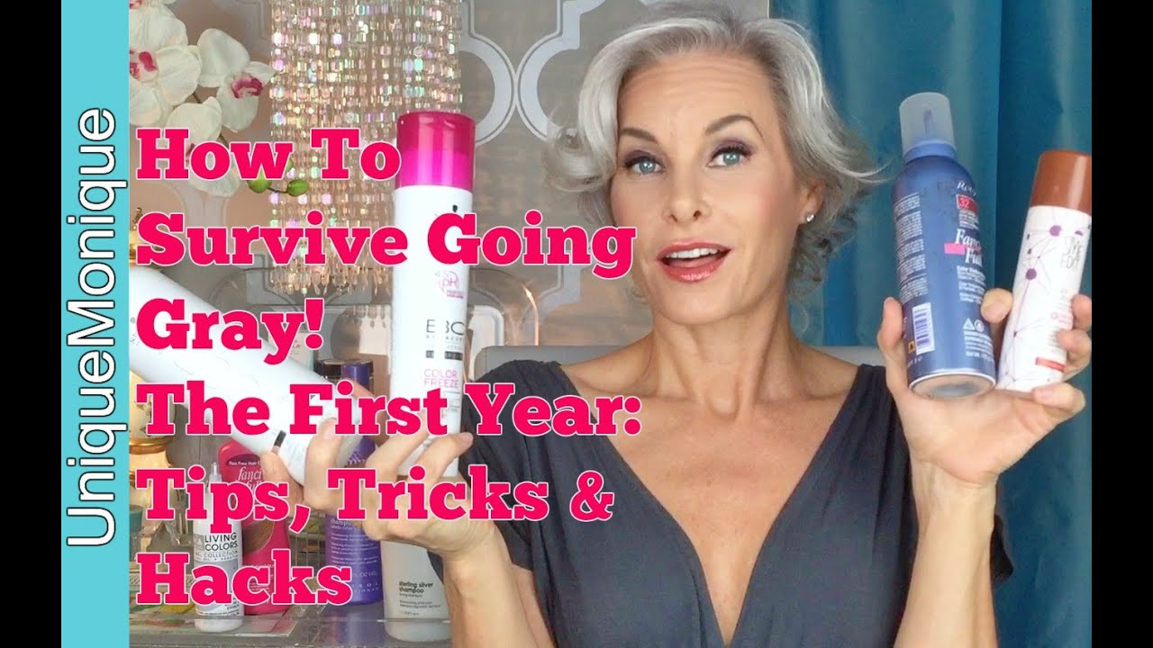 How To Survive Going Gray The First Year Tips Tricks Hacks