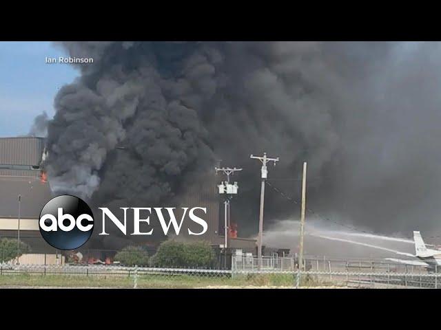 Investigation underway after fatal plane crash at Texas airport hangar