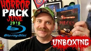 HORROR PACK JUNE 2018 BLU RAY UNBOXING