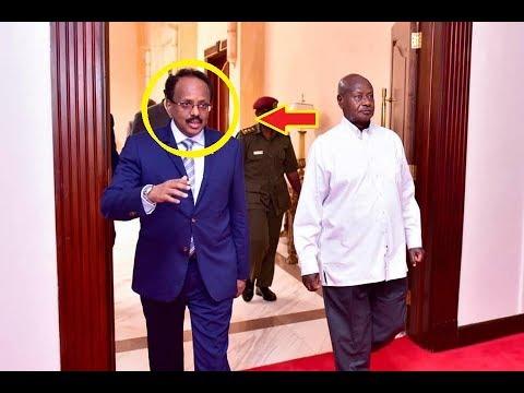 Madaxweyne Farmajo oo wada Midoowga Dowladaha Kenya Iyo Uganda