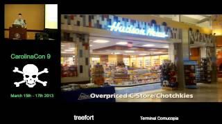Terminal Cornucopia - treefort - CarolinaCon9