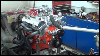 sbc 524hp 383 stroker engine dyno run for mike stone by white performance and machine