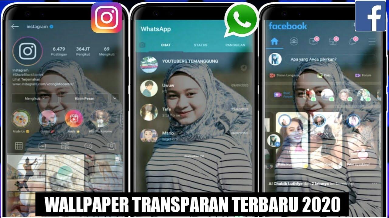 Cara Membuat Wallpaper Transparan Di Semua Aplikasi