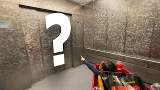 Elevator Door Mystery Game!